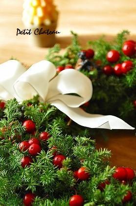 クリスマスリース (10)