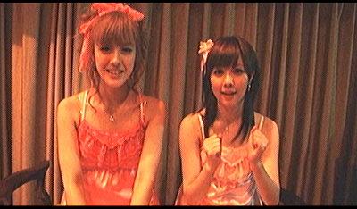 超絶美少女二人組。