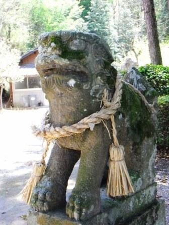 船岡神社玖珠1