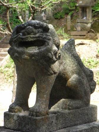 古門神社古門1