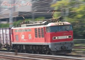 4071レ(=EF510-2牽引)