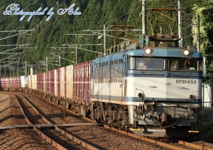 3097レ(=EF81-453牽引)