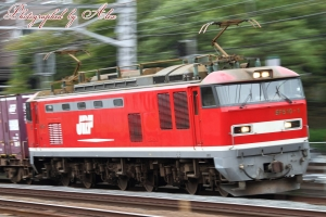 4071レ(=EF510-1牽引)
