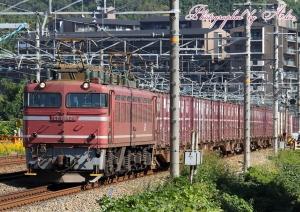3092レ(=EF81-404牽引)