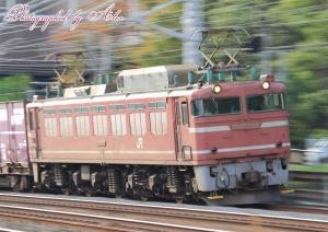4071レ(=EF81-723牽引)