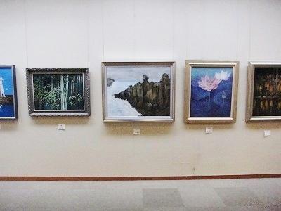 日本画展 3