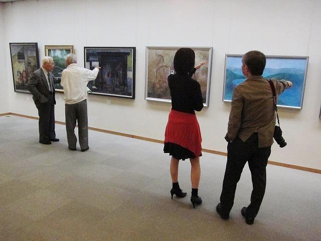 日本画展2