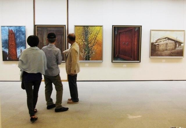 日本画展 6