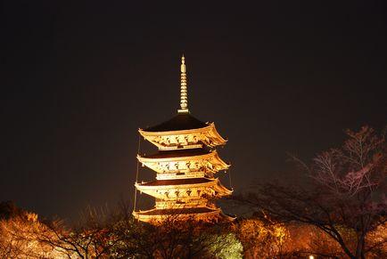 東寺ライトアップ 001