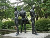 千鳥ヶ淵公園の裸像