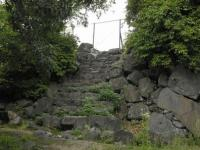 fu.大分府内城天守台への石段
