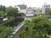 fu.府内城天守台から見る二重櫓(人質櫓)