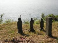 ha.原城 有明海を見つめる像 002