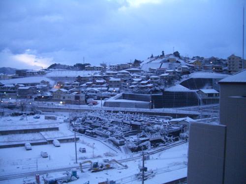 大晦日雪2