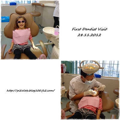 Ashley at Dentist