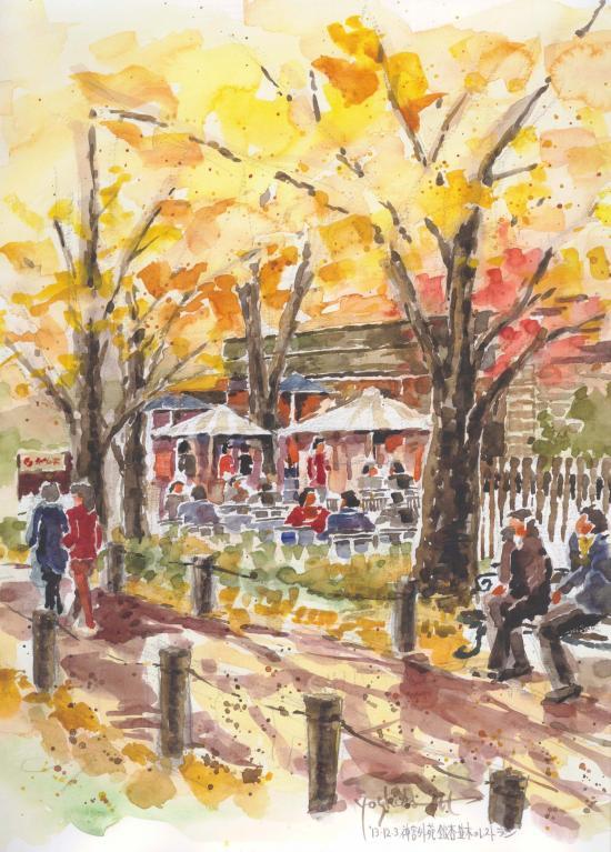 神宮外苑銀杏並木のレストラン(F6)