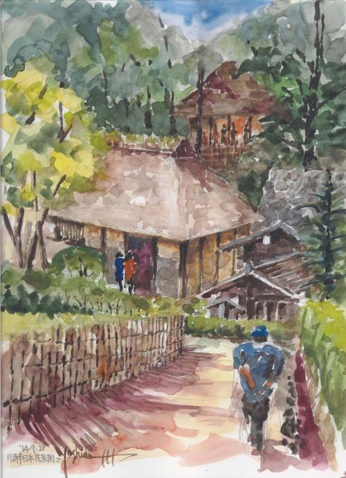 川崎・日本民家園で(F6)