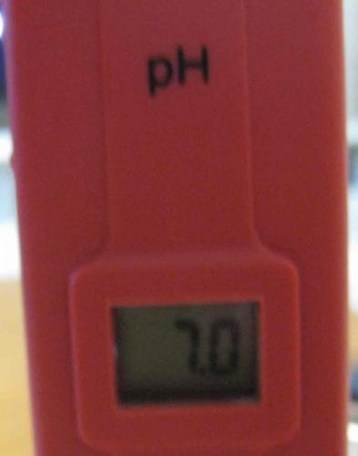 pH校正後