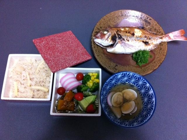 お食い初め 料理