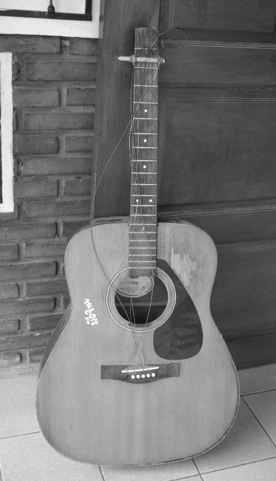 ギターの末路