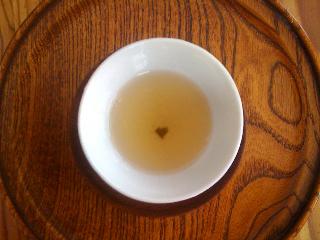 茶柱?(茶葉)