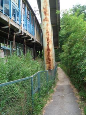 駅からの縦走路