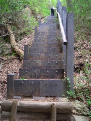 菊水登山道2