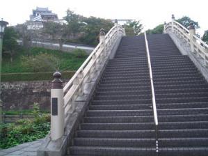 福知山城 お堀の橋