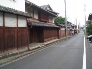 福知山の街並み