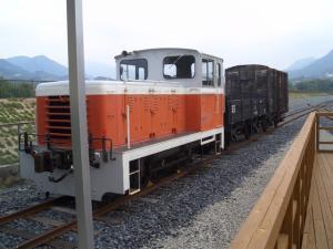 101108 有田川鉄道交流 ディーゼルと貨物