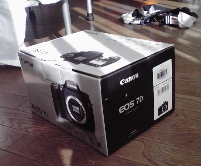 eos7d 箱