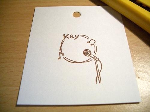 $ぽむはん-key(マイク