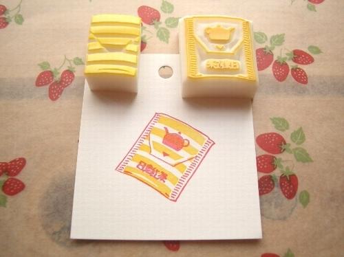 $ぽむはん-日東紅茶ティーバッグ1