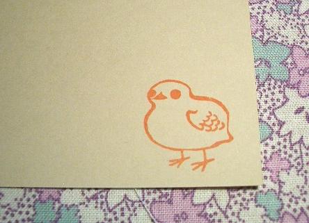鳥のはんこ