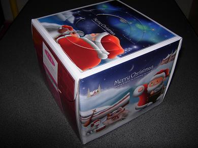 クリスマスケーキ パッケージ