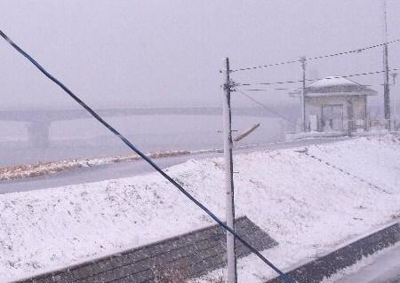 雪ダーー!!