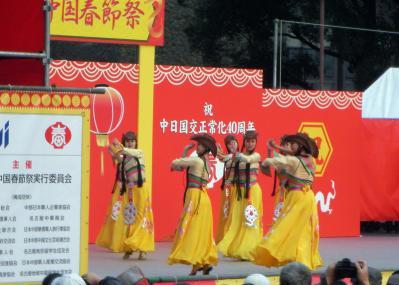 中国のダンスチーム