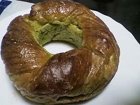 抹茶パン20120520