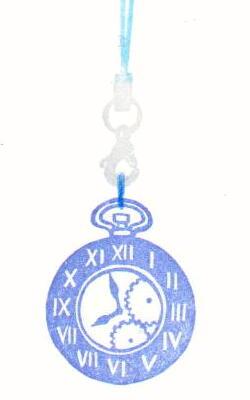 ストラップフック色見本・時計