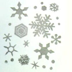 雪の結晶たくさん