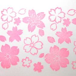 桜たくさん色見本