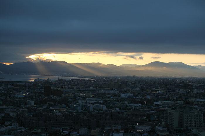 1105五稜郭タワーから夕景01