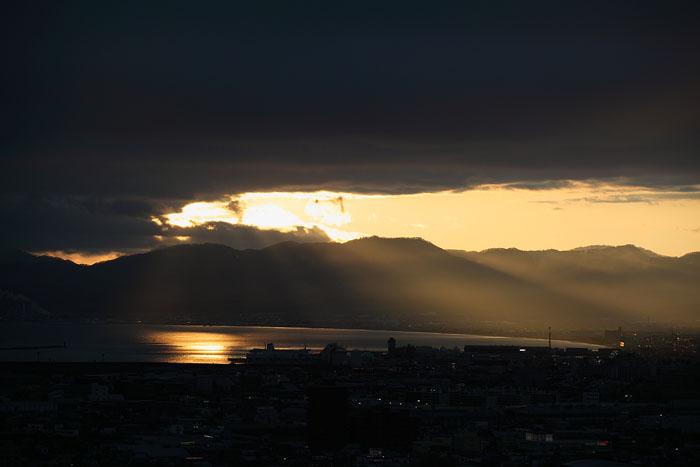 1105五稜郭タワーから夕景02
