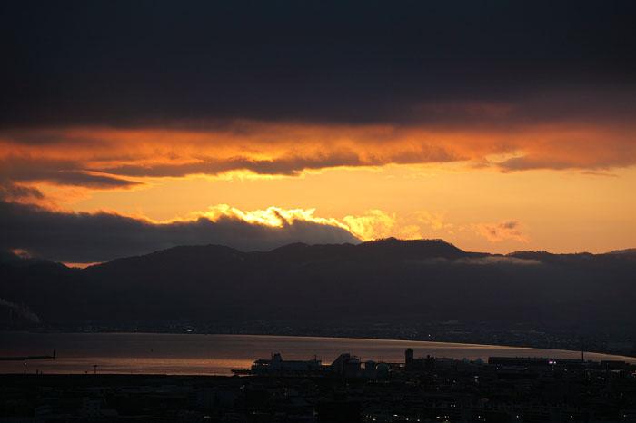 1105五稜郭タワーから夕景04