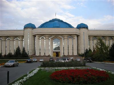 カザフスタン国立歴史博物館<br />