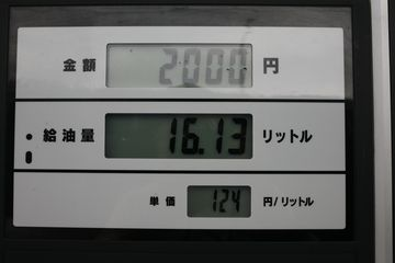 124円/L!