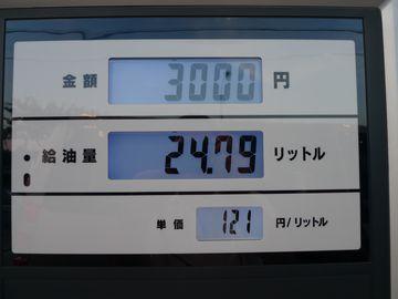 121円/L!