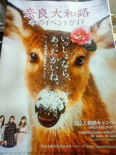冬もいいよ 奈良へお越しください
