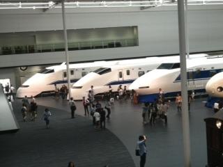 新幹線博物館2