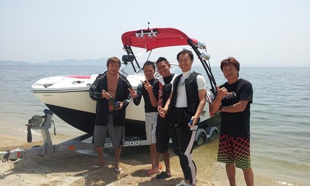 琵琶湖新艇